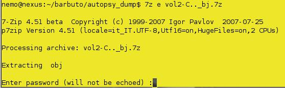 tentativo estrazione file da _bj.7z